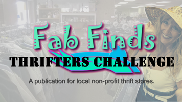"Join our monthly ""Thrifters Challenge"""