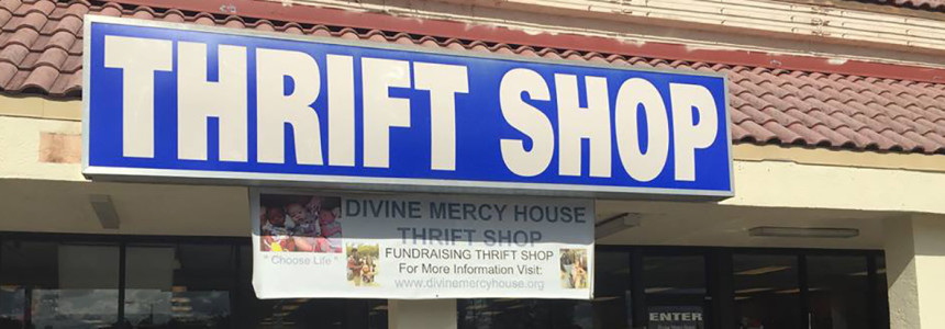 Divine Mercy House Thrift Shop
