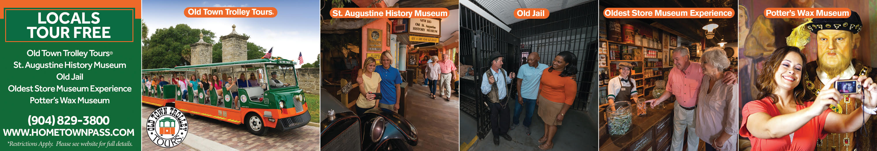 St. Augustine ALL Tours, Sightseeing, Museums & Attractions