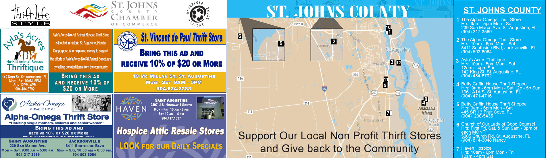 St Johns County Map 2018